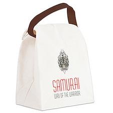 Samurai - Way Of The Warrior Canvas Lunch Bag