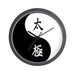 Taiji Wall Clock