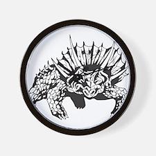 Dinosaur Tattoo Wall Clock