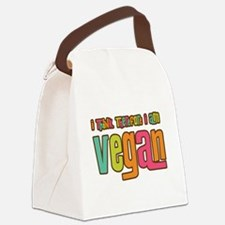 Think Vegan Canvas Lunch Bag