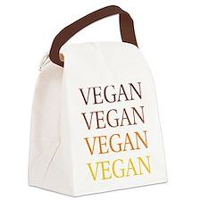Vintage Vegan Canvas Lunch Bag