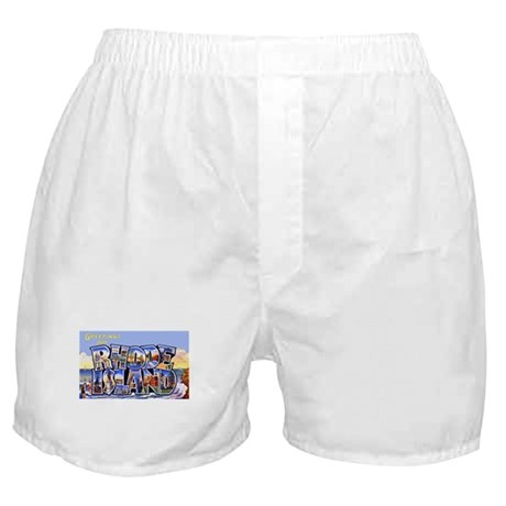 Rhode Island Greetings Boxer Shorts
