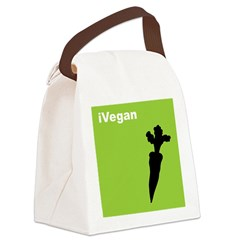 iVegan Canvas Lunch Bag