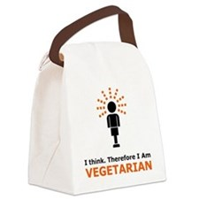 I Think Canvas Lunch Bag