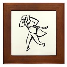 Detective Framed Tile