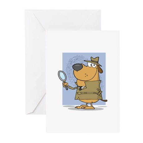 Detective Greeting Cards (Pk of 10)