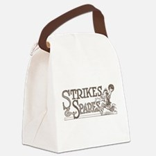 Bowling Strikes & Spares Canvas Lunch Bag