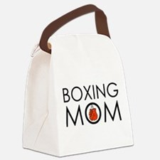 Boxing Mom Canvas Lunch Bag