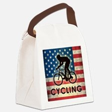 Grunge USA Cycling Canvas Lunch Bag