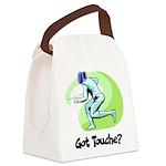 Got Touche? Canvas Lunch Bag