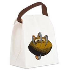 Claw Football Canvas Lunch Bag