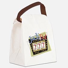 Jackpot 777 Canvas Lunch Bag