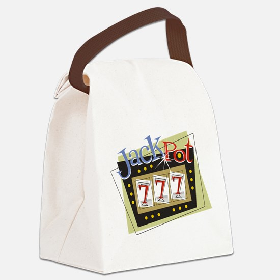 Jackpot 777 Canvas Lunch Bag
