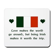 Irish Love Mousepad