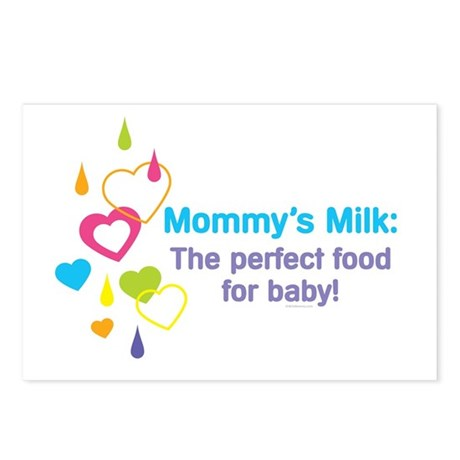 Mommys Milk Postcards (Package of 8)