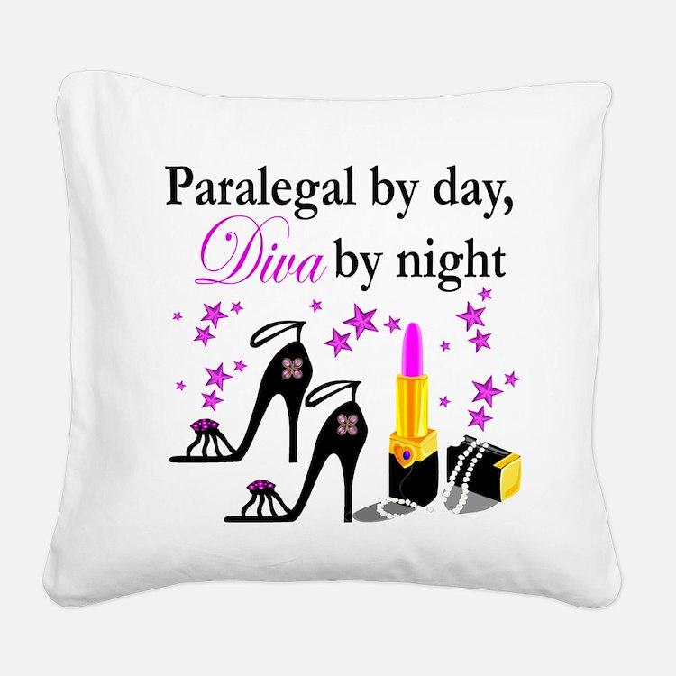 PARALEGAL Square Canvas Pillow