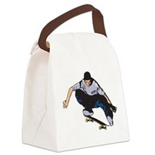 Skateboarding Canvas Lunch Bag