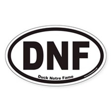 DNF Euro Oval Decal