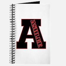 ASHLEE Letterman design Red/b Journal