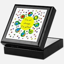 Gifted Not Strange Keepsake Box
