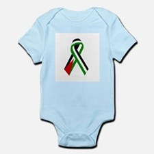 Palestinian Ribbon for Peace & Jus Infant Creeper