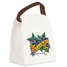 Alaska Canvas Lunch Bag
