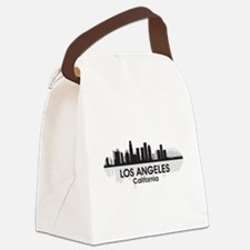 Los Angeles Skyline Canvas Lunch Bag