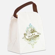 Eagle Idaho Canvas Lunch Bag
