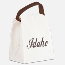 Vintage Idaho Canvas Lunch Bag