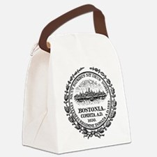 Boston Seal Canvas Lunch Bag