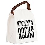 Minneapolis Rocks Canvas Lunch Bag