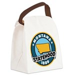Montana Statehood Canvas Lunch Bag