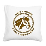Montanan Square Canvas Pillow
