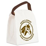New Yorker Canvas Lunch Bag