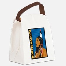 North Dakota Canvas Lunch Bag