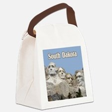 South Dakota Mount Rushmore Canvas Lunch Bag