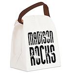 Madison Rocks Canvas Lunch Bag