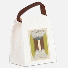 Visit The National Parks Canvas Lunch Bag