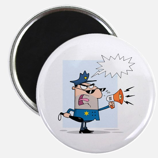 "Police 2.25"" Magnet (10 pack)"