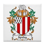 Apsley Coat of Arms Tile Coaster