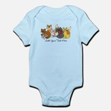 Cats and Kittens Onesie