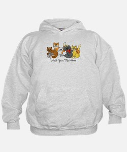 Cats and Kittens Hoodie