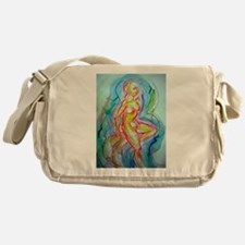 Nude Bright, abstract art! Messenger Bag