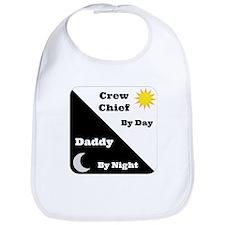 Crew Chief by day Daddy by night Bib