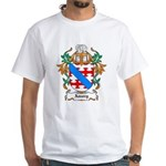Amory Coat of Arms White T-Shirt