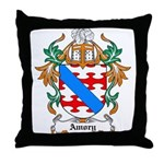 Amory Coat of Arms Throw Pillow