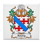 Amory Coat of Arms Tile Coaster