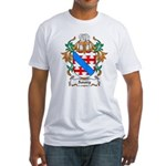 Amory Coat of Arms Fitted T-Shirt
