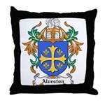 Alverton Coat of Arms Throw Pillow