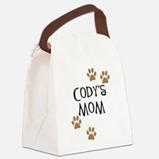 Cody's Mom Dog Names Canvas Lunch Bag